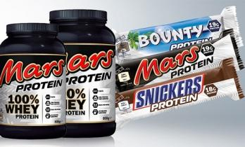 Новинка-протеиновые Марс и Сникерс!